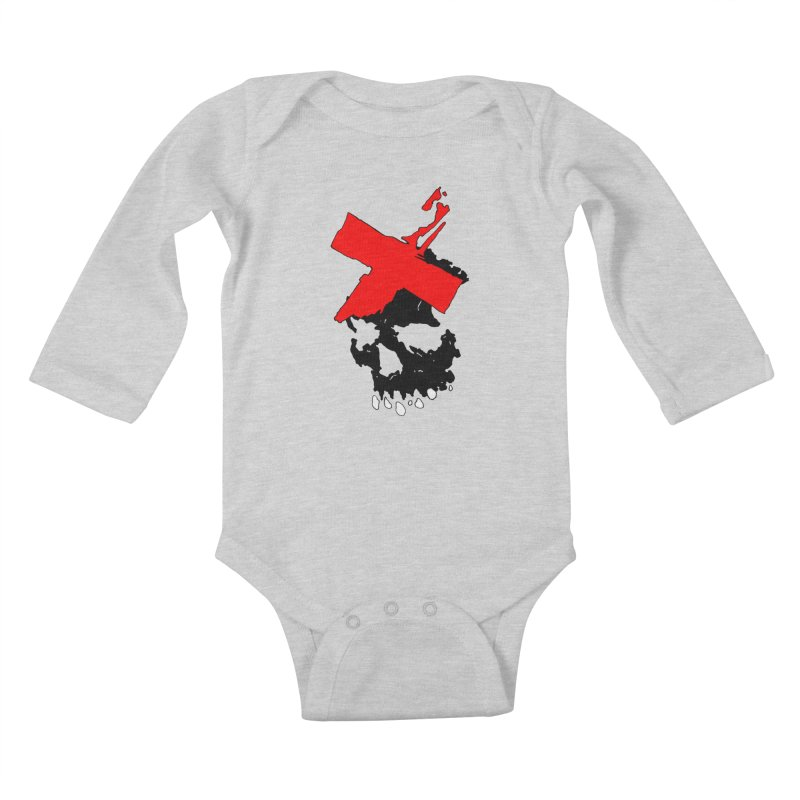 Canto of Illusions Kids Baby Longsleeve Bodysuit by Norman Wilkerson