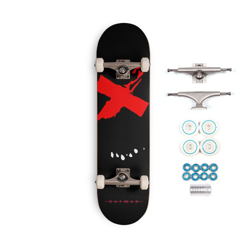 Canto of Illusions Accessories Complete - Basic Skateboard by Norman Wilkerson
