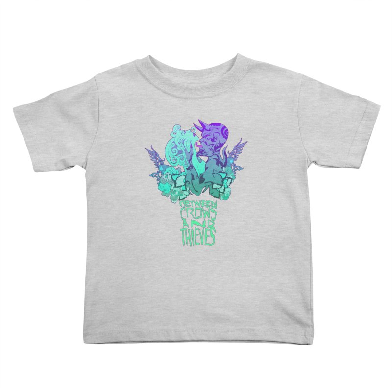 The Lovers Kids Toddler T-Shirt by Norman Wilkerson