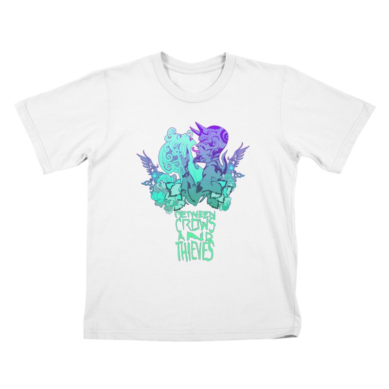 The Lovers Kids T-Shirt by Norman Wilkerson