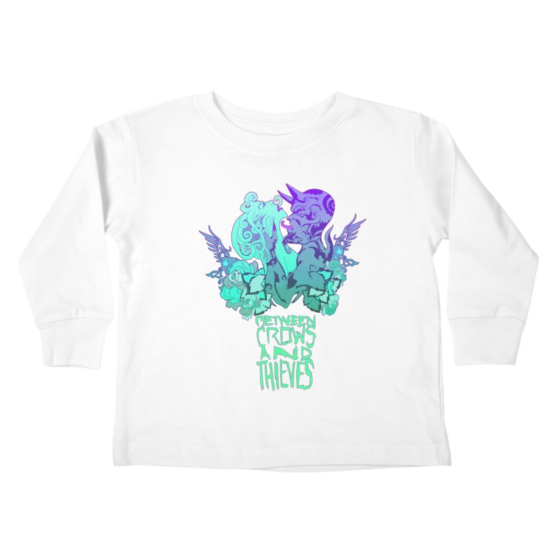 The Lovers Kids Toddler Longsleeve T-Shirt by Norman Wilkerson