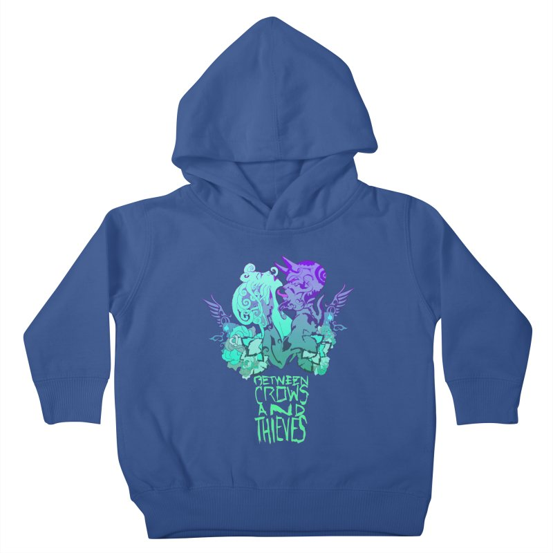 The Lovers Kids Toddler Pullover Hoody by Norman Wilkerson