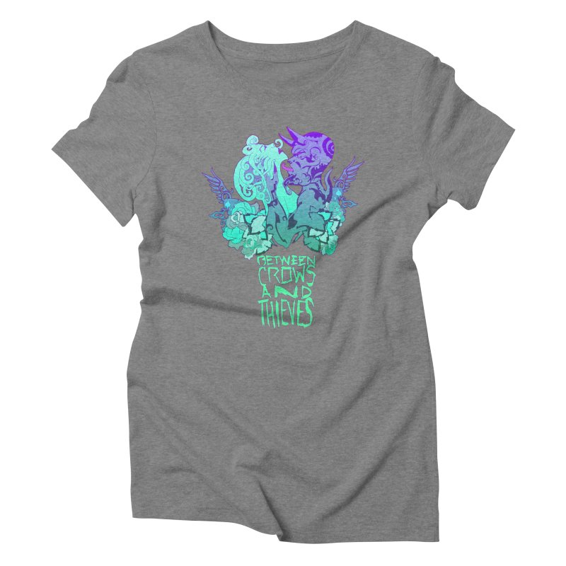 The Lovers Women's Triblend T-Shirt by Norman Wilkerson
