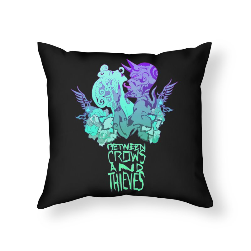 The Lovers Home Throw Pillow by Norman Wilkerson