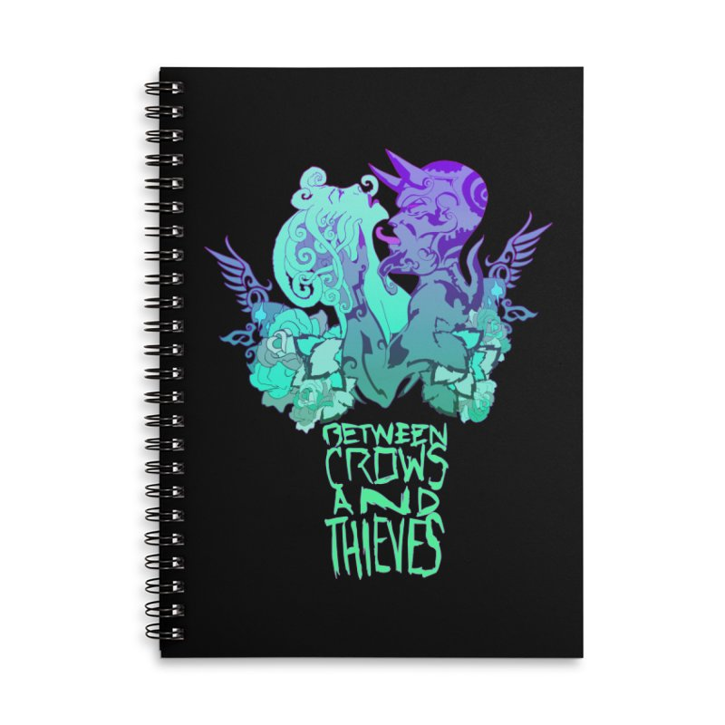The Lovers Accessories Lined Spiral Notebook by Norman Wilkerson