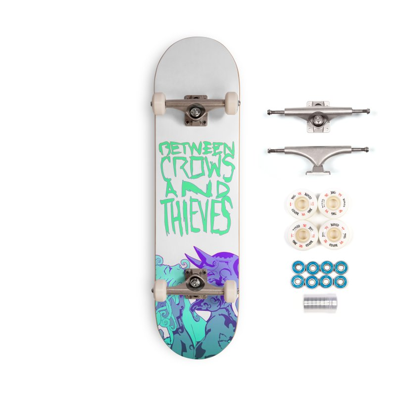 The Lovers Accessories Complete - Premium Skateboard by Norman Wilkerson