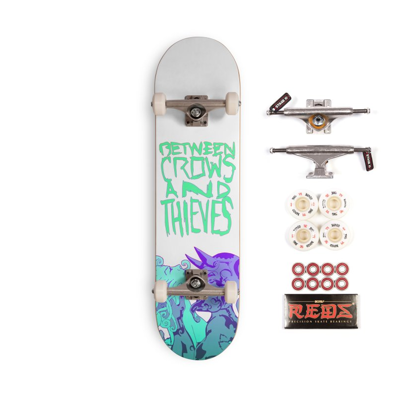 The Lovers Accessories Complete - Pro Skateboard by Norman Wilkerson