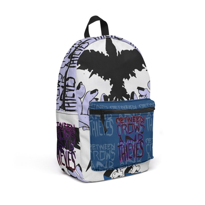 Crow Thief Accessories Backpack Bag by Norman Wilkerson