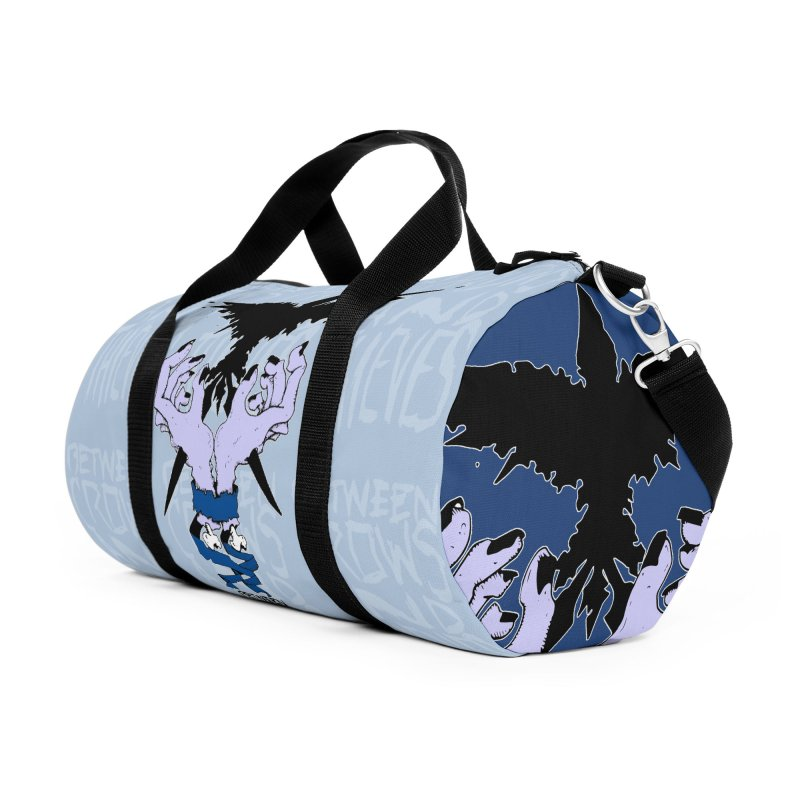 Crow Thief Accessories Duffel Bag Bag by Norman Wilkerson