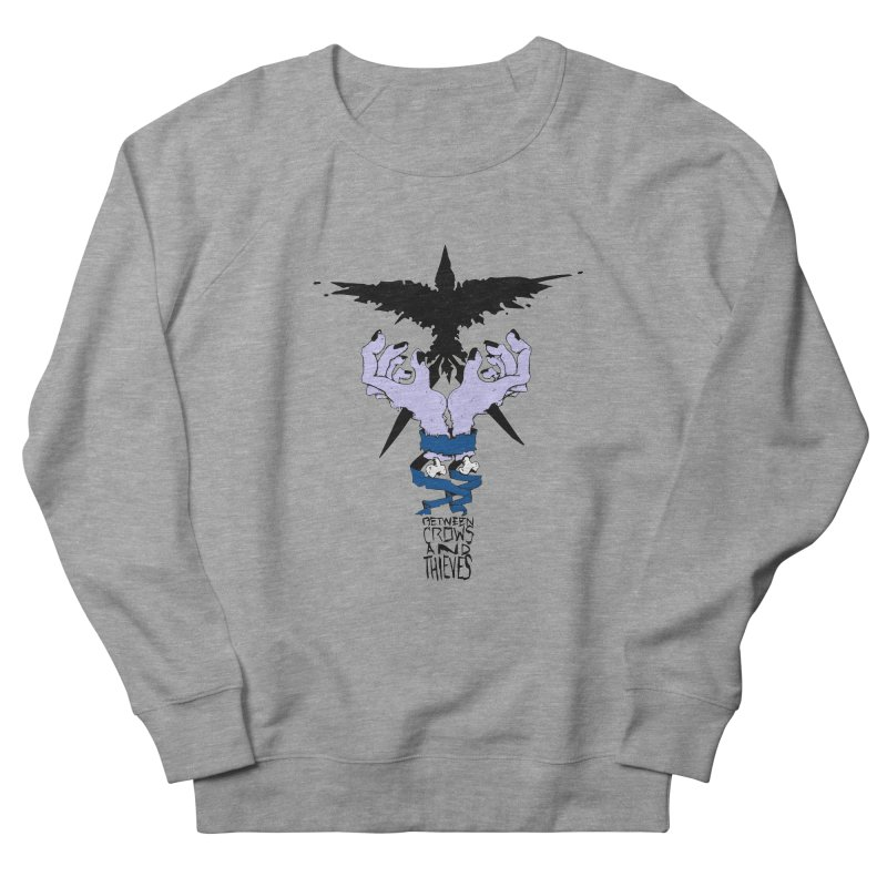 Crow Thief Men's French Terry Sweatshirt by Norman Wilkerson