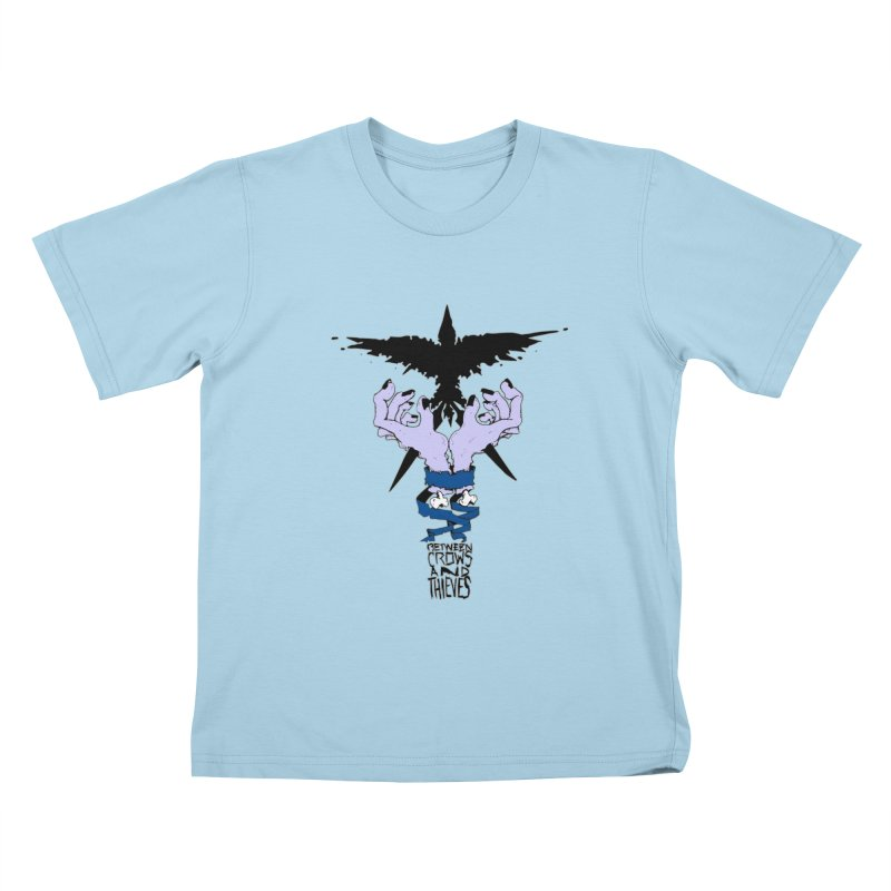 Crow Thief Kids T-Shirt by Norman Wilkerson