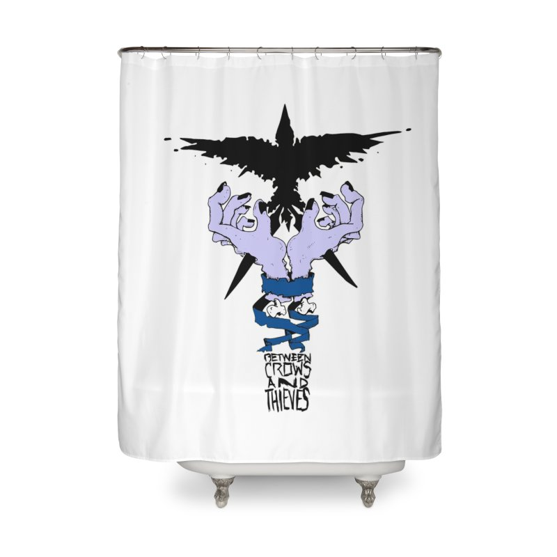 Crow Thief Home Shower Curtain by Norman Wilkerson