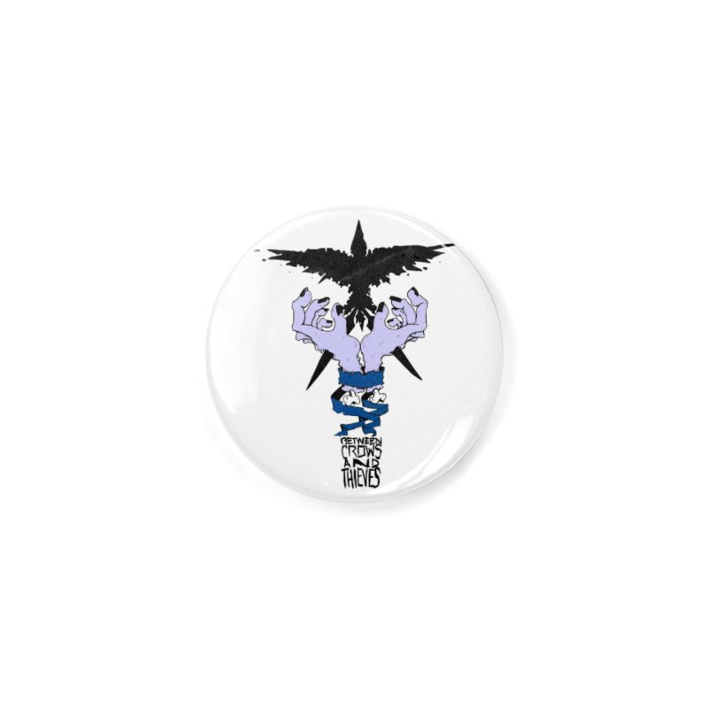 Crow Thief Accessories Button by Norman Wilkerson