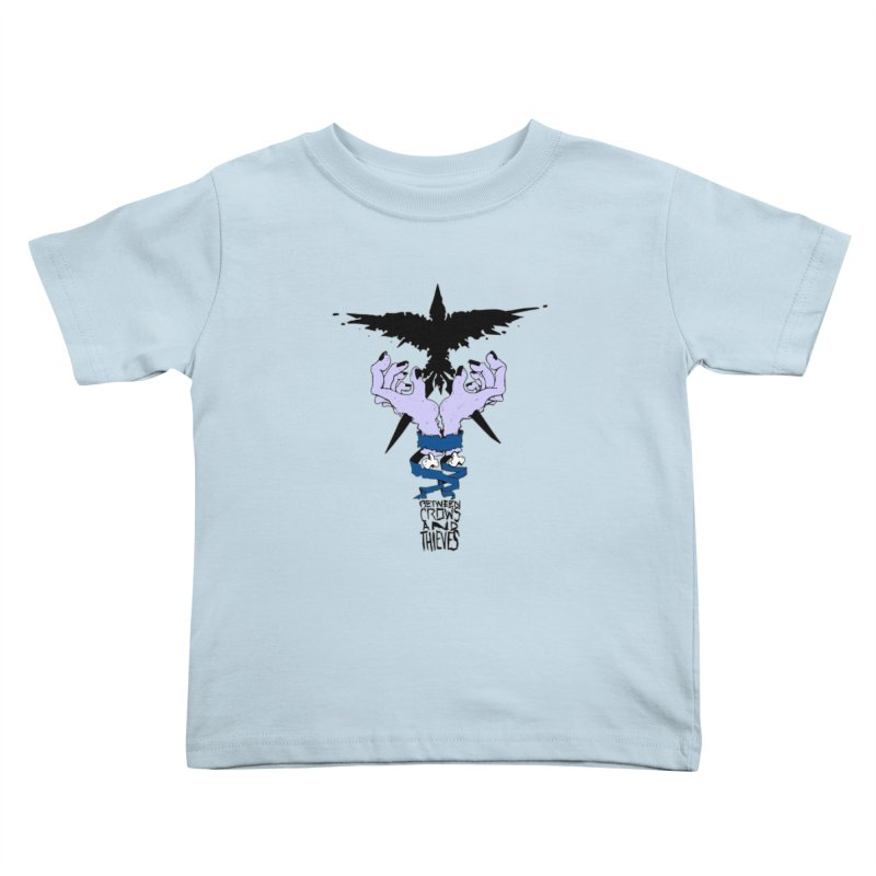 Crow Thief Kids Toddler T-Shirt by Norman Wilkerson