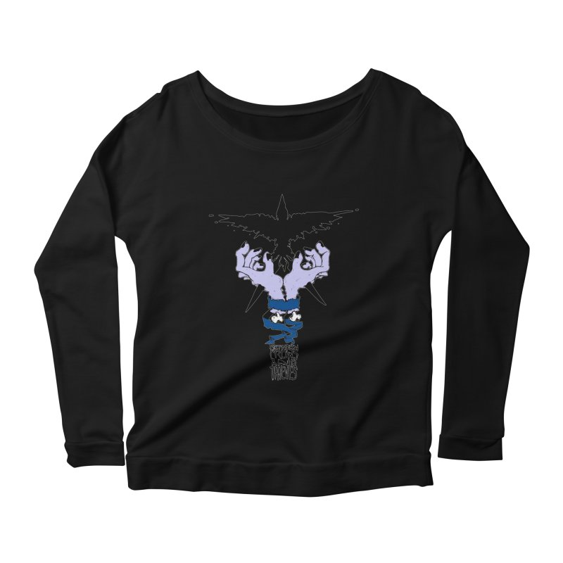 Crow Thief Women's Scoop Neck Longsleeve T-Shirt by Norman Wilkerson