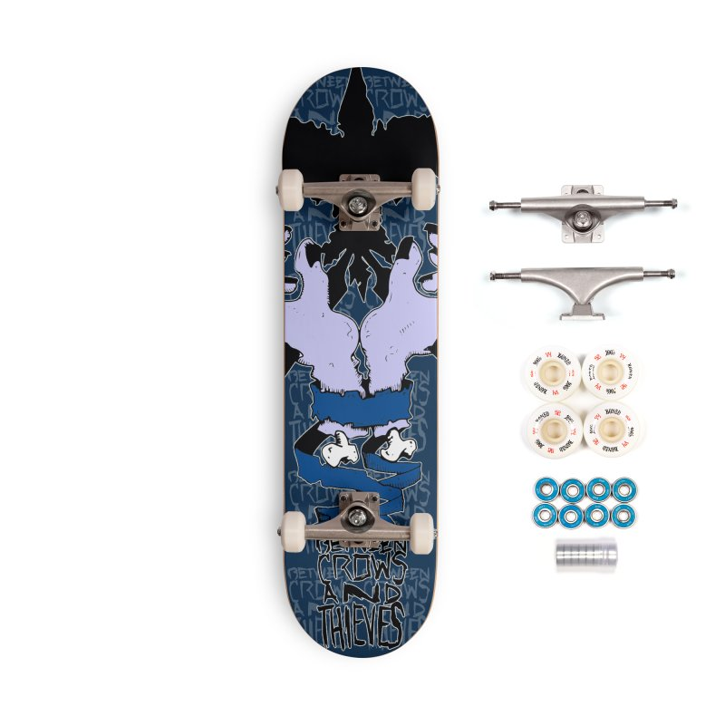 Crow Thief Accessories Complete - Premium Skateboard by Norman Wilkerson