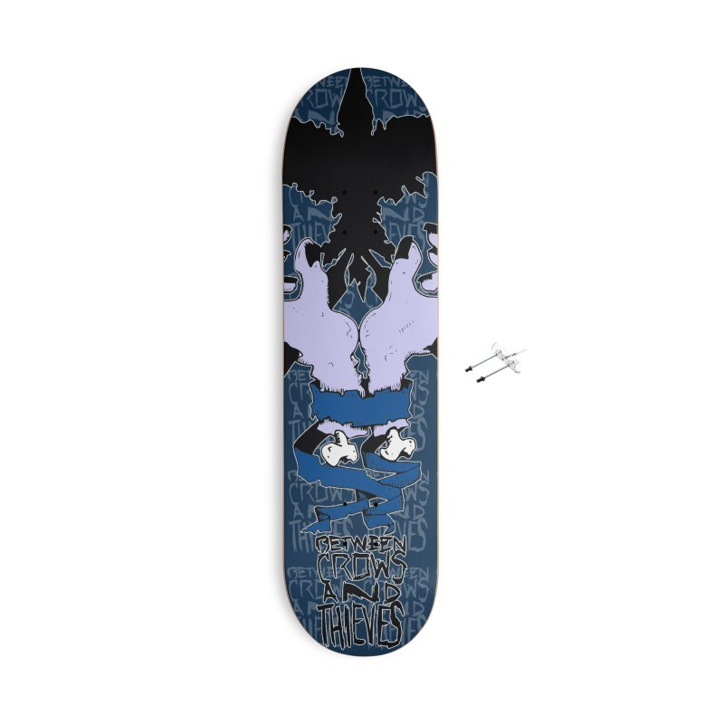 Crow Thief Accessories With Hanging Hardware Skateboard by Norman Wilkerson