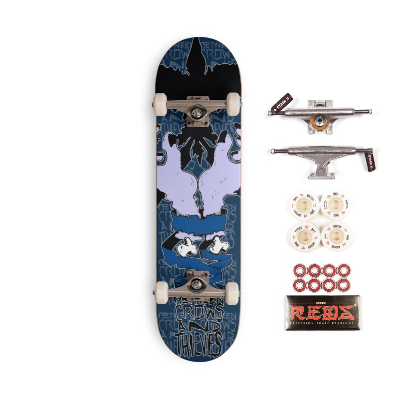 Crow Thief Accessories Complete - Pro Skateboard by Norman Wilkerson