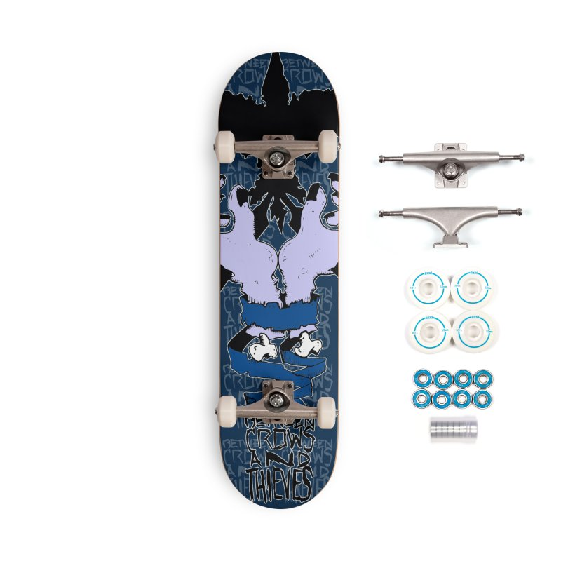 Crow Thief Accessories Complete - Basic Skateboard by Norman Wilkerson