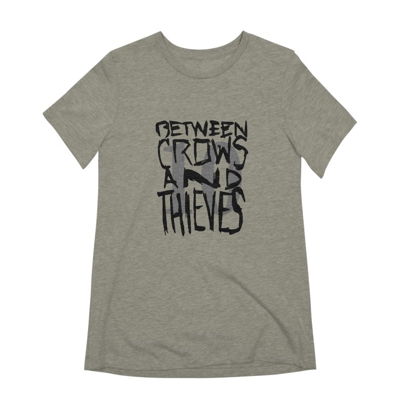 Between Crows & Thieves 10 Years Women's Extra Soft T-Shirt by Norman Wilkerson