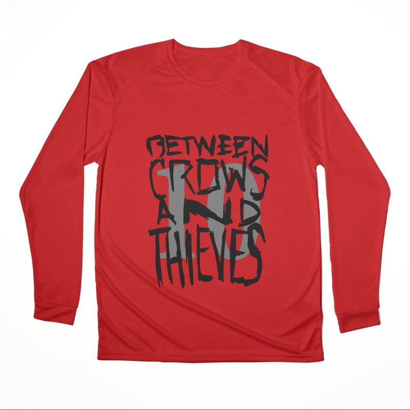 Between Crows & Thieves 10 Years Men's Performance Longsleeve T-Shirt by Norman Wilkerson