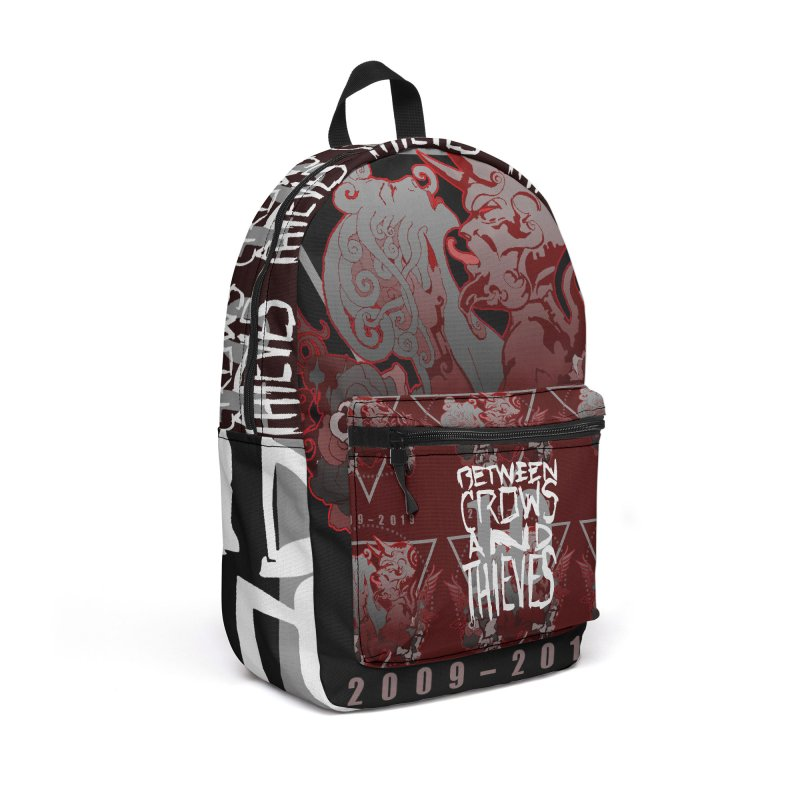 Between Crows & Thieves Anniversary logo Accessories Backpack Bag by Norman Wilkerson