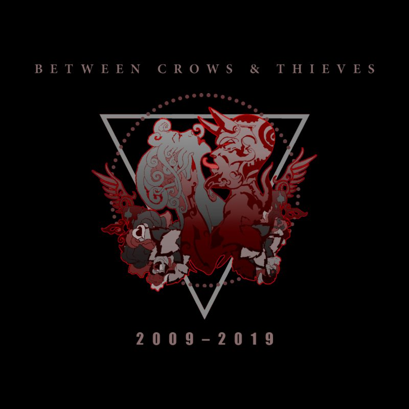 Between Crows & Thieves Anniversary logo by Norman Wilkerson