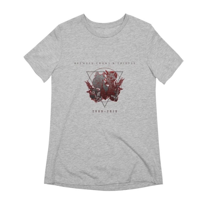 Between Crows & Thieves Anniversary logo Women's Extra Soft T-Shirt by Norman Wilkerson