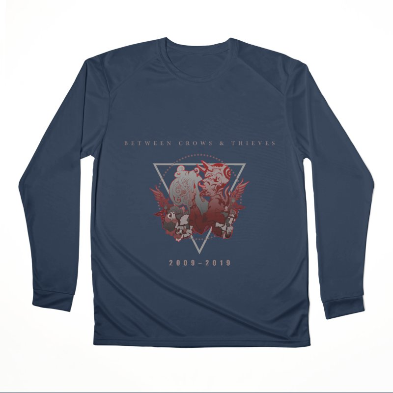 Between Crows & Thieves Anniversary logo Men's Performance Longsleeve T-Shirt by Norman Wilkerson