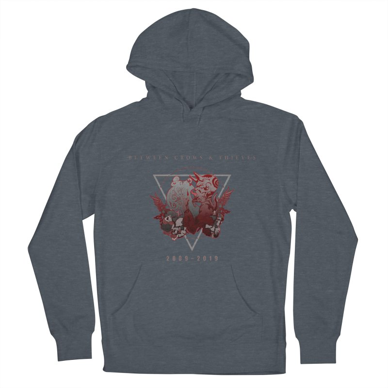 Between Crows & Thieves Anniversary logo Men's French Terry Pullover Hoody by Norman Wilkerson