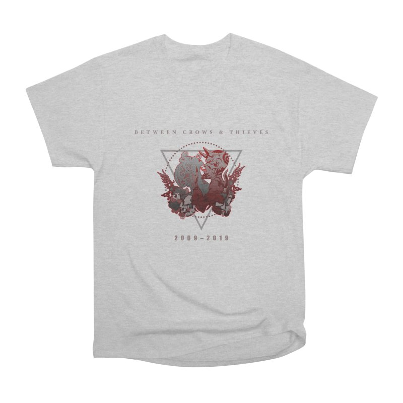 Between Crows & Thieves Anniversary logo Women's Heavyweight Unisex T-Shirt by Norman Wilkerson