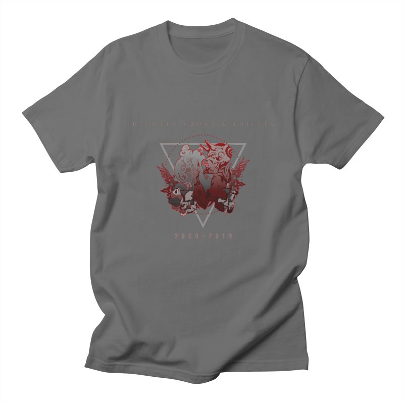 Between Crows & Thieves Anniversary logo Men's Regular T-Shirt by Norman Wilkerson