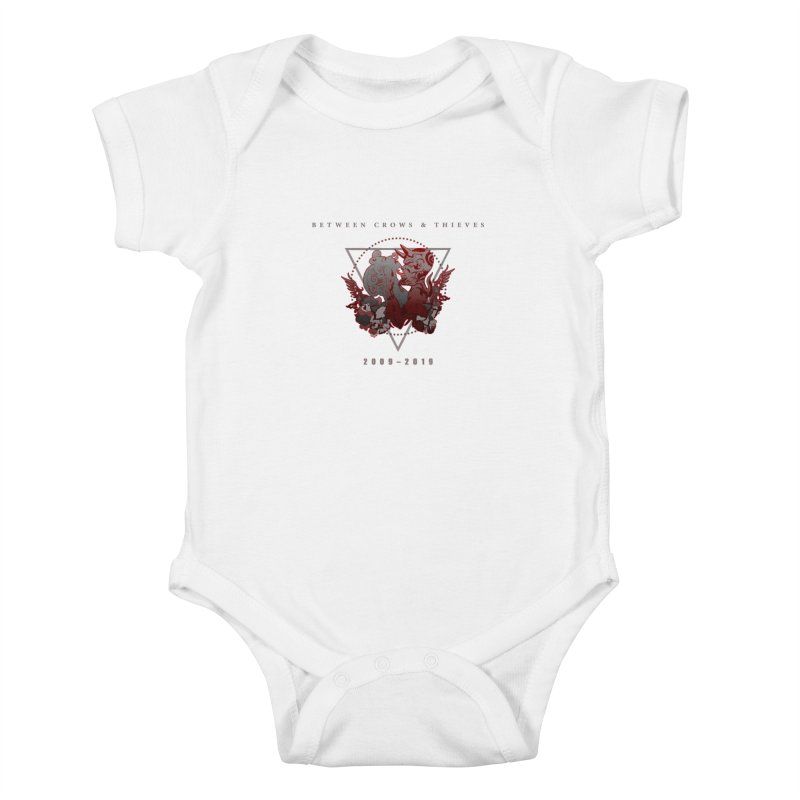 Between Crows & Thieves Anniversary logo Kids Baby Bodysuit by Norman Wilkerson