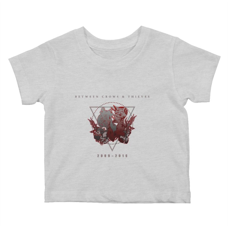 Between Crows & Thieves Anniversary logo Kids Baby T-Shirt by Norman Wilkerson