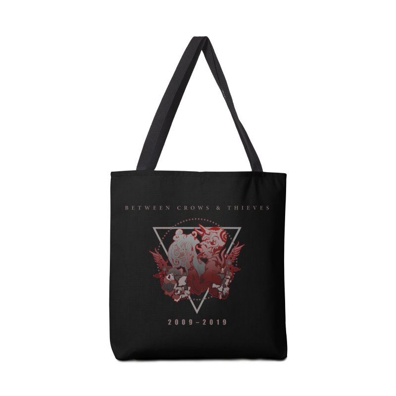 Between Crows & Thieves Anniversary logo Accessories Tote Bag Bag by Norman Wilkerson