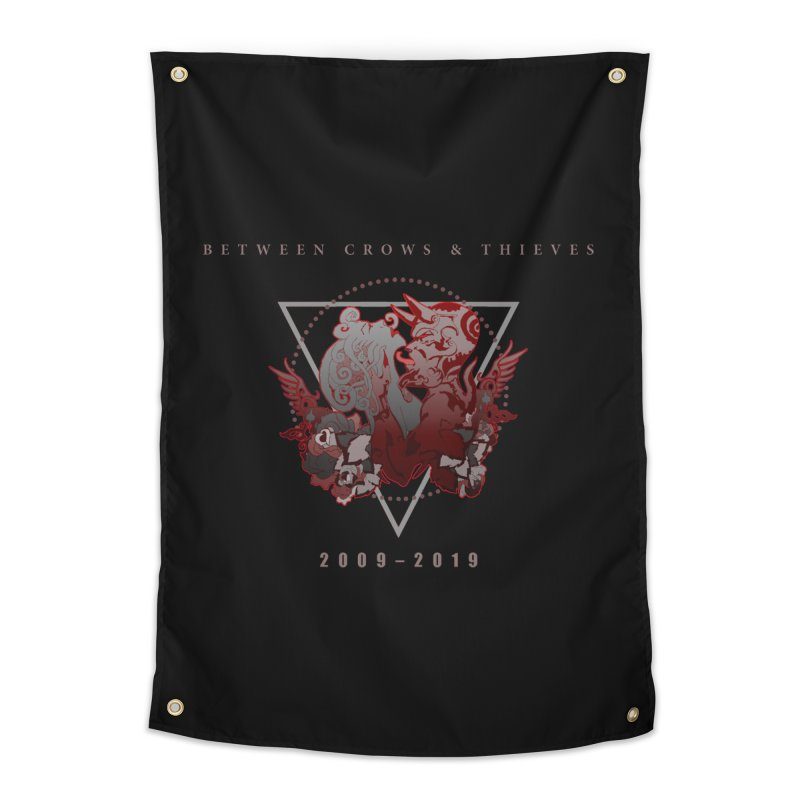 Between Crows & Thieves Anniversary logo Home Tapestry by Norman Wilkerson