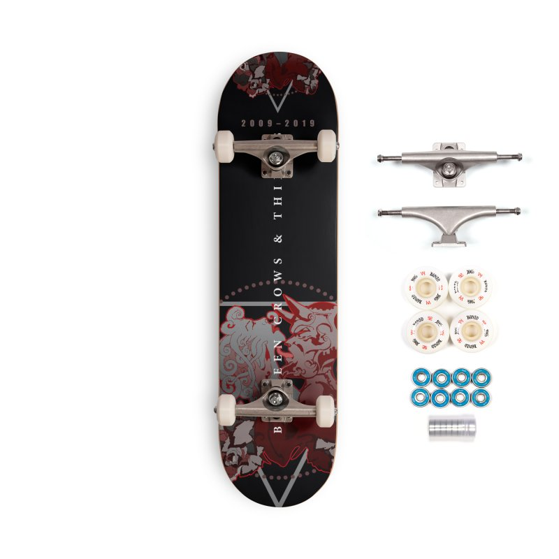 Between Crows & Thieves Anniversary logo Accessories Complete - Premium Skateboard by Norman Wilkerson
