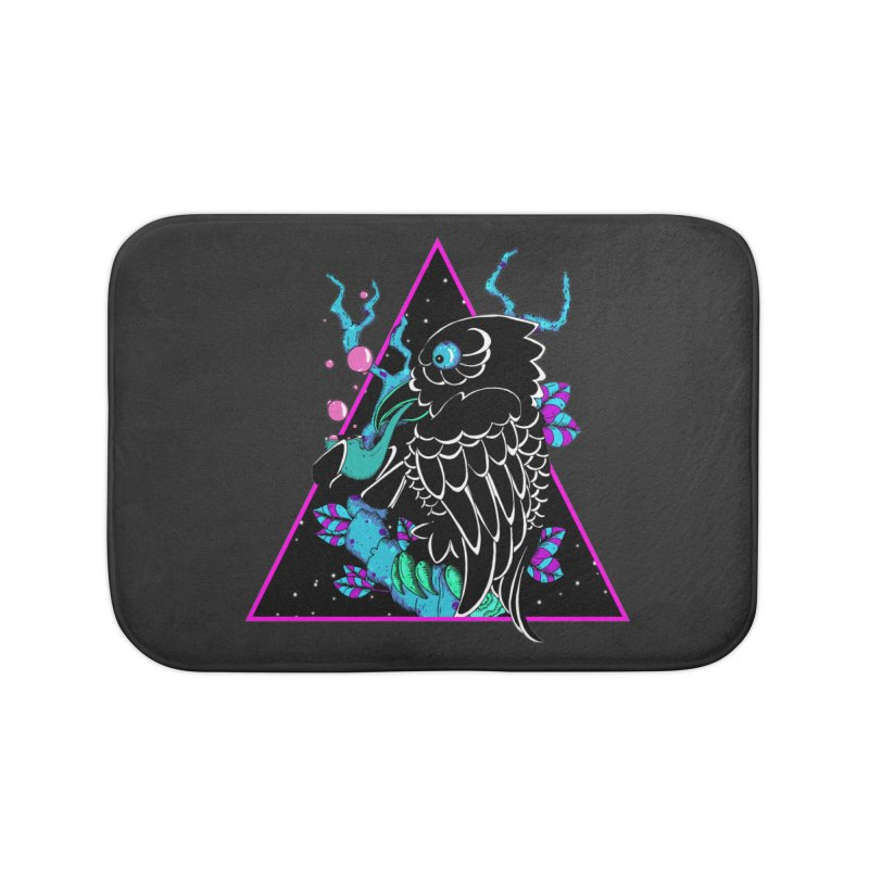 Stellar Crow Home Bath Mat by NORMAN WDC SHOP