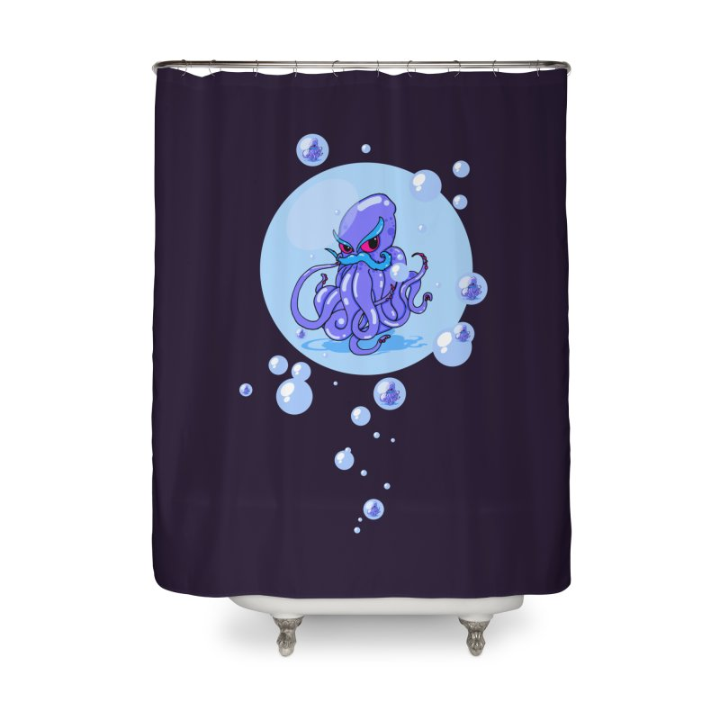 Octostache Home Shower Curtain by NORMAN WDC SHOP
