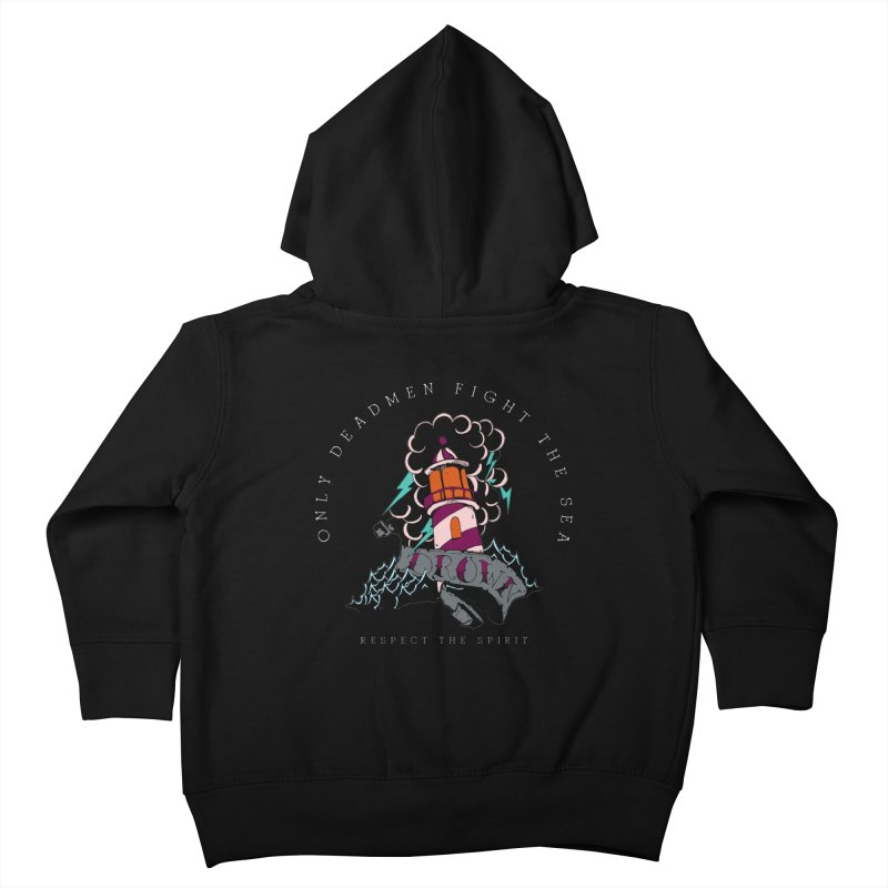 Drown In The Sea Kids Toddler Zip-Up Hoody by NORMAN WDC SHOP