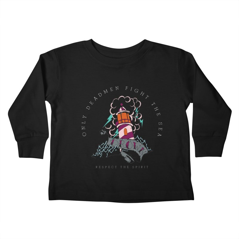 Drown In The Sea Kids Toddler Longsleeve T-Shirt by NORMAN WDC SHOP