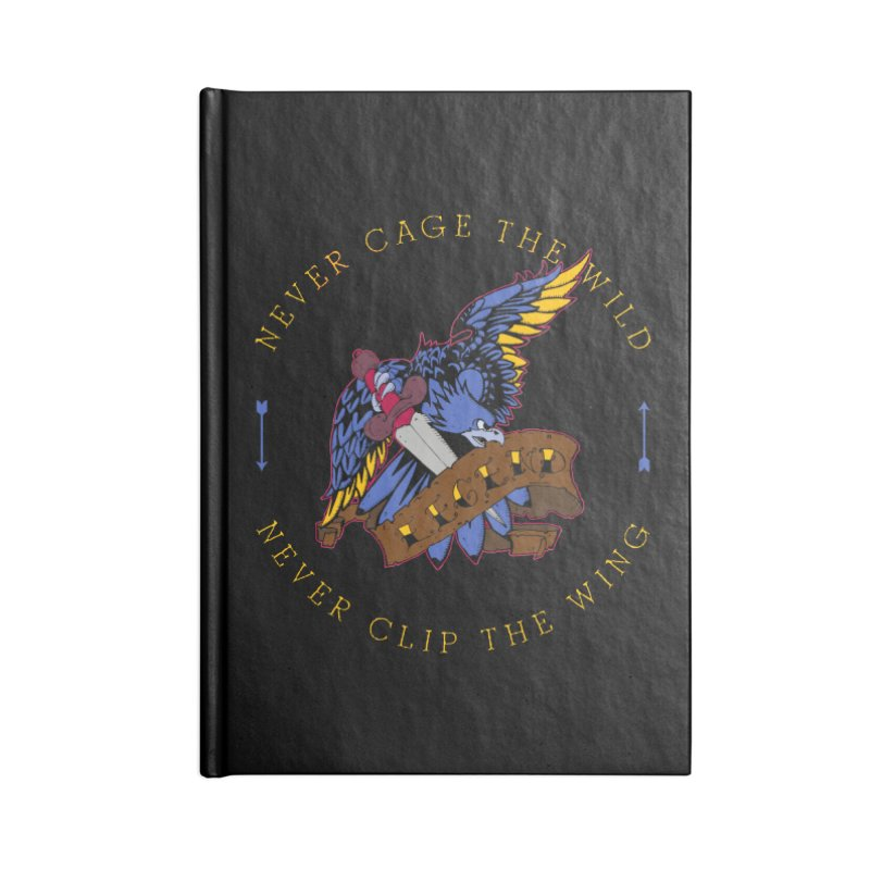 Never Cage The Wild Accessories Notebook by NORMAN WDC SHOP