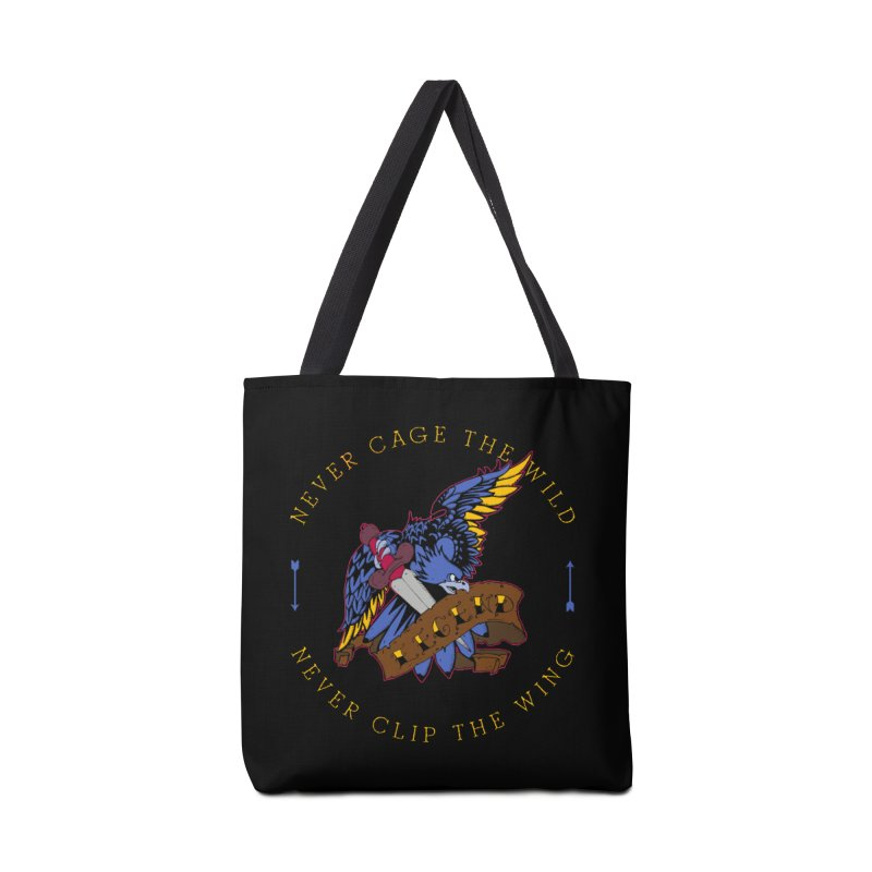 Never Cage The Wild Accessories Bag by NORMAN WDC SHOP