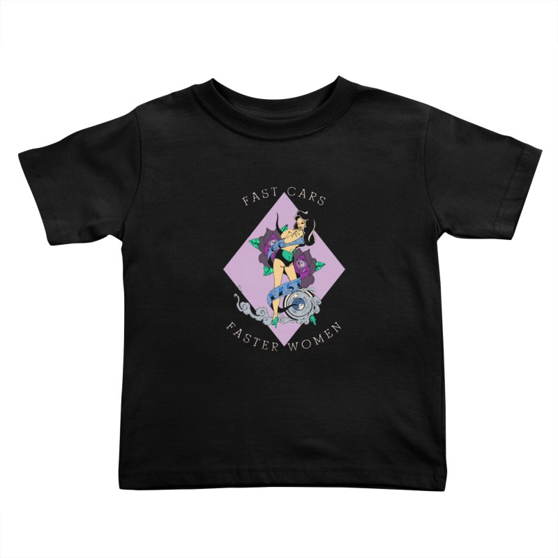 Fast Cars Kids Toddler T-Shirt by NORMAN WDC SHOP