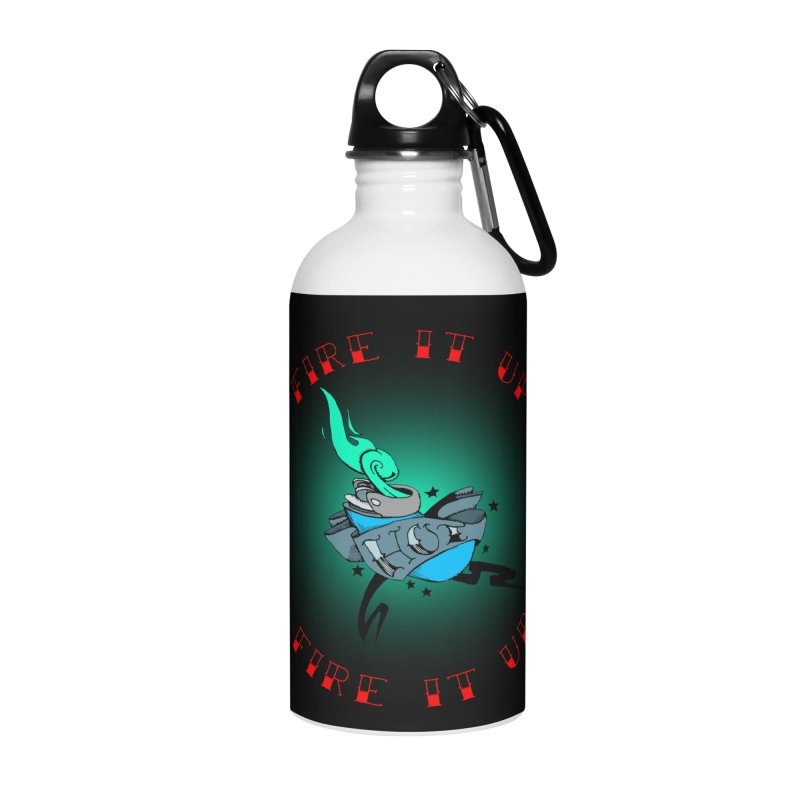 Fire It Up! Accessories Water Bottle by NORMAN WDC SHOP
