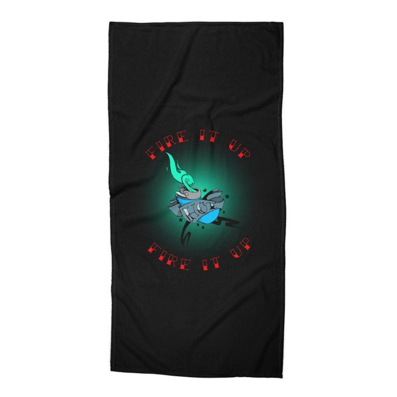 Fire It Up! Accessories Beach Towel by NORMAN WDC SHOP