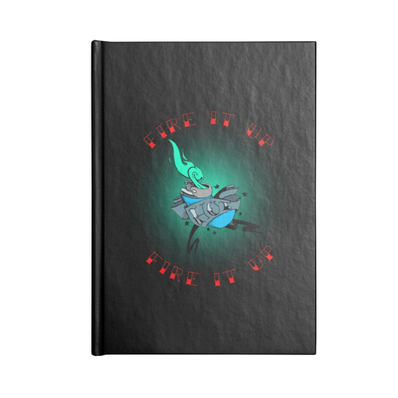 Fire It Up! Accessories Notebook by NORMAN WDC SHOP