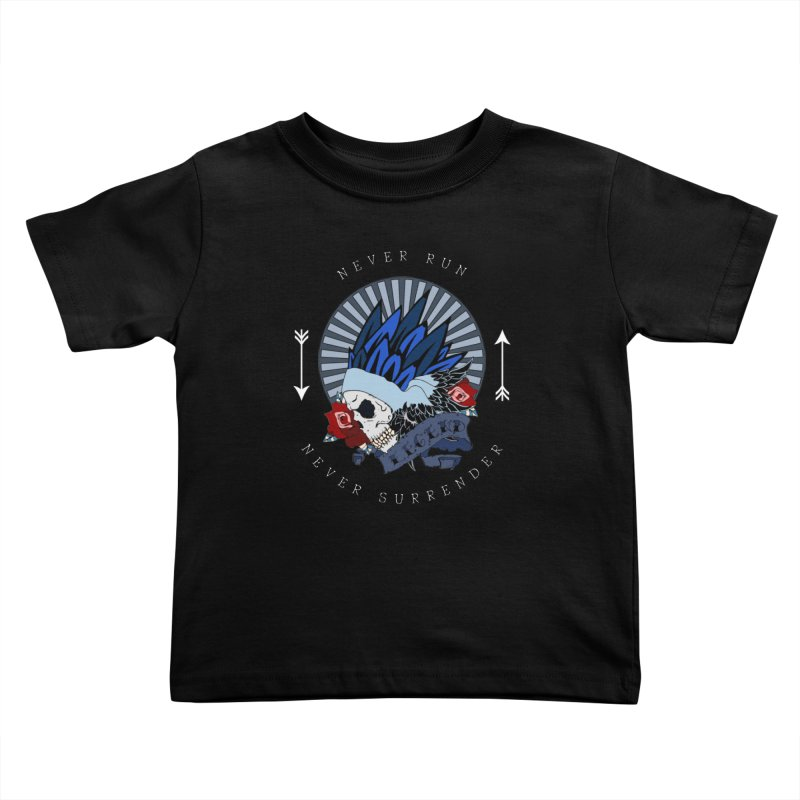 Never Run Kids Toddler T-Shirt by NORMAN WDC SHOP