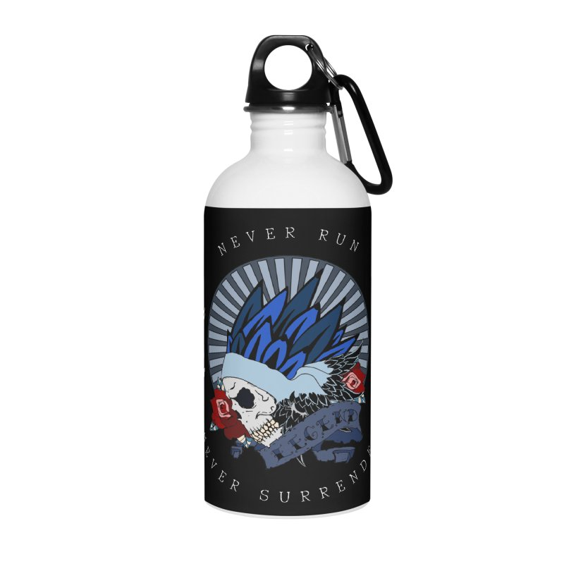 Never Run Accessories Water Bottle by NORMAN WDC SHOP