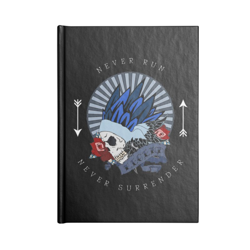 Never Run Accessories Notebook by NORMAN WDC SHOP